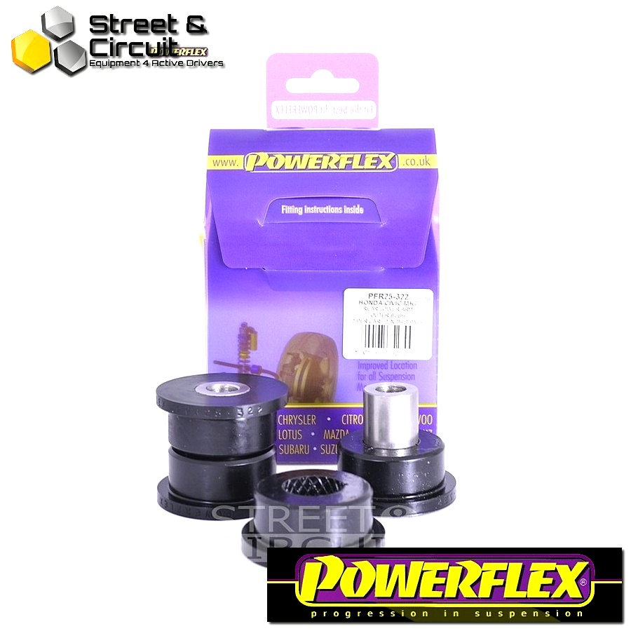 | ΑΡΙΘΜΟΣ ΣΧΕΔΙΟΥ 22 | - Powerflex ROAD *ΣΕΤ* Σινεμπλόκ - CR-V (2002 - 2006) - Rear Lower Arm Outer Front Bush Code: PFR25-322
