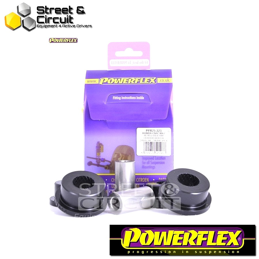 | ΑΡΙΘΜΟΣ ΣΧΕΔΙΟΥ 23 | - Powerflex ROAD *ΣΕΤ* Σινεμπλόκ - CR-V (2002 - 2006) - Rear Lower Arm Outer Rear Bush Code: PFR25-323