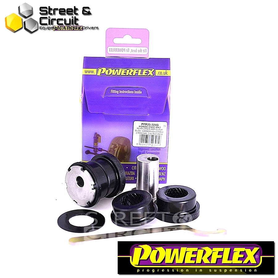 | ΑΡΙΘΜΟΣ ΣΧΕΔΙΟΥ 24 | - Powerflex ROAD *ΣΕΤ* Σινεμπλόκ - CR-V (2002 - 2006) - Rear Upper Arm Outer Bush, Camber Adjustable Code: PFR25-324G
