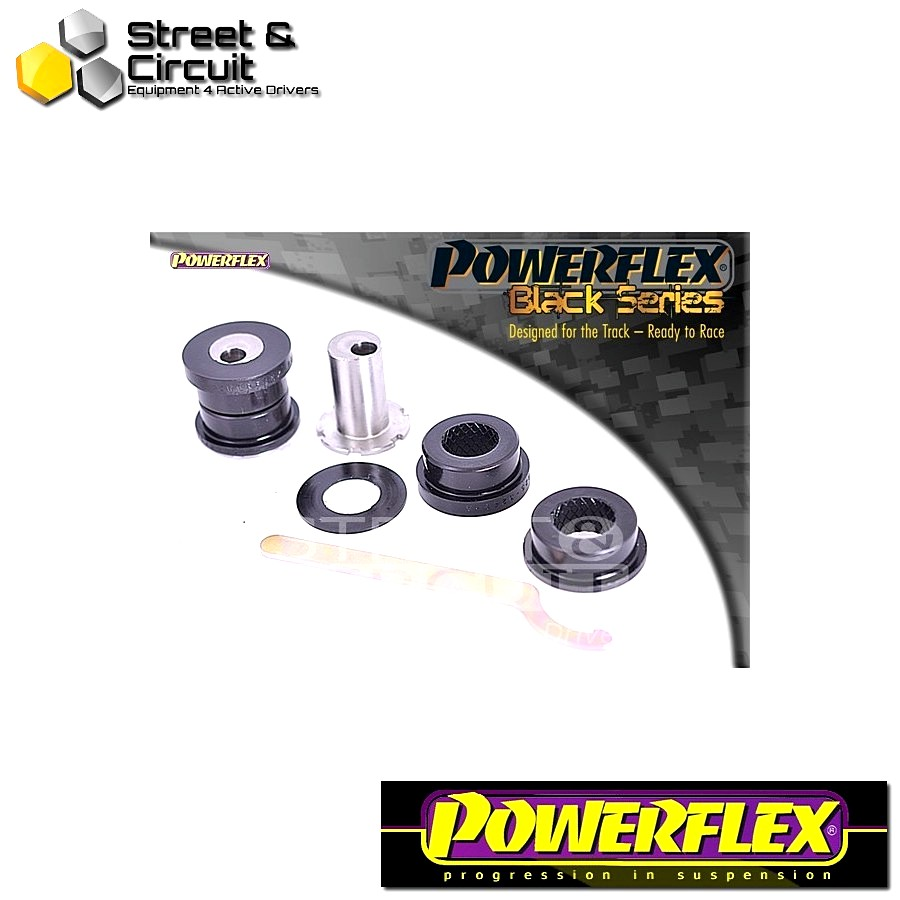| ΑΡΙΘΜΟΣ ΣΧΕΔΙΟΥ 24 | - Powerflex BLACK SERIES *ΣΕΤ* Σινεμπλόκ - CR-V (2002 - 2006) - Rear Upper Arm Outer Bush, Camber Adjustable Code: PFR25-324GBLK