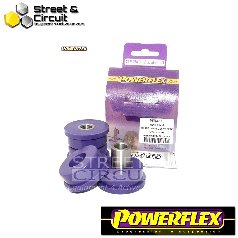 | ΑΡΙΘΜΟΣ ΣΧΕΔΙΟΥ 6 | - Powerflex ROAD *ΣΕΤ* Σινεμπλόκ - Cabriolet (1992 - 2000) - Rear Beam Front Location Bush Code: PFR3-110