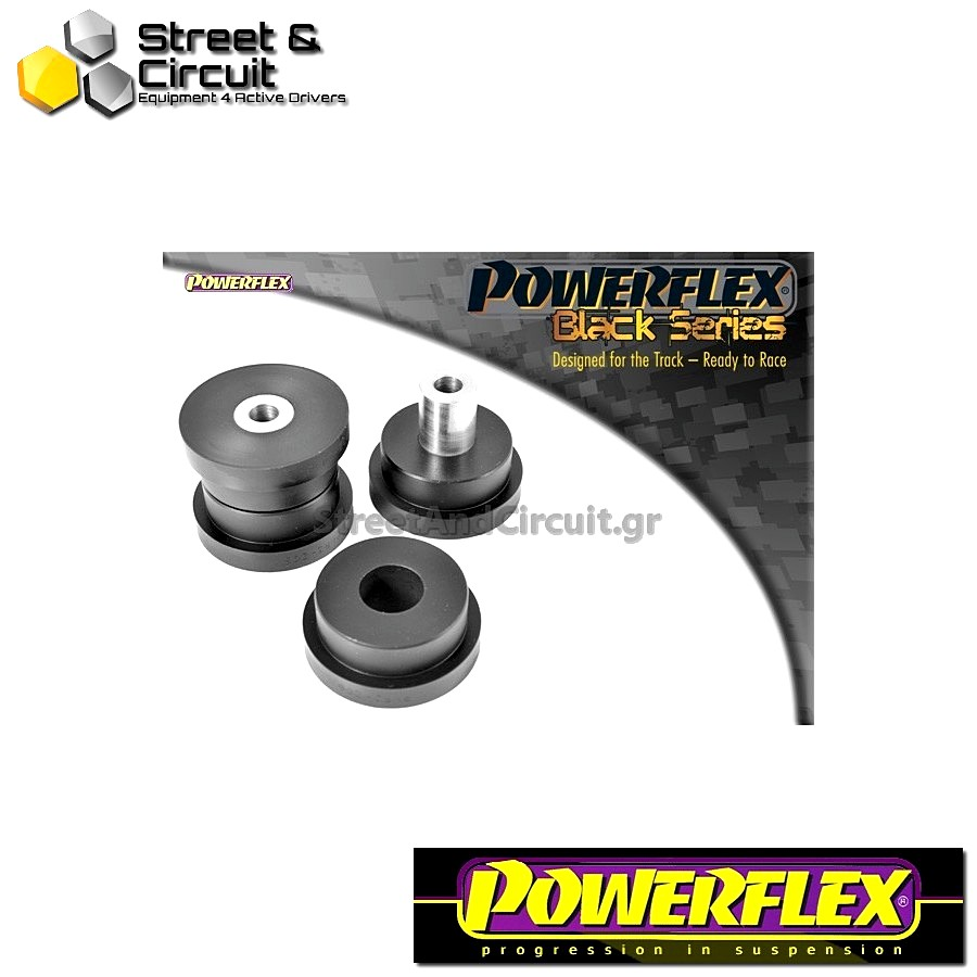 | ΑΡΙΘΜΟΣ ΣΧΕΔΙΟΥ 6 | - Powerflex BLACK SERIES *ΣΕΤ* Σινεμπλόκ - 80 - 90 Avant Quattro (1992-1996), S2 Saloon, Sedan and Avant B4, RS2 B4 (1994-1996) - Rear Lower Arm Rear Bush Code: PFR3-206BLK