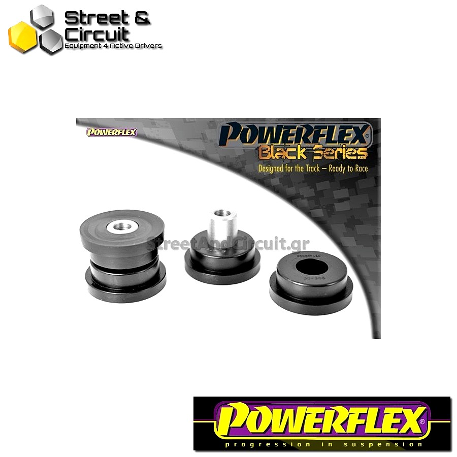 | ΑΡΙΘΜΟΣ ΣΧΕΔΙΟΥ 4 | - Powerflex BLACK SERIES *ΣΕΤ* Σινεμπλόκ - Integrale 16v - Rear Tie Bar Rear Bush Code: PFR30-308BLK