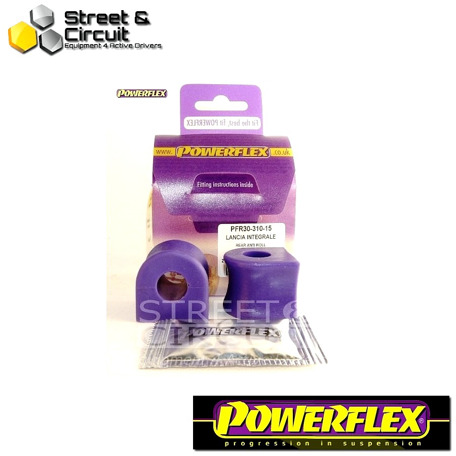 | ΑΡΙΘΜΟΣ ΣΧΕΔΙΟΥ 5 | - Powerflex ROAD *ΣΕΤ* Σινεμπλόκ - Integrale 16v - Rear Anti Roll Bar Bush 15mm Code: PFR30-310-15