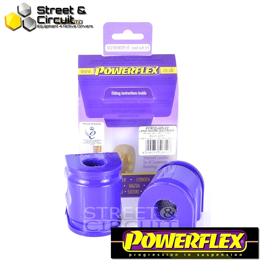 | ΑΡΙΘΜΟΣ ΣΧΕΔΙΟΥ 10 | - Powerflex ROAD *ΣΕΤ* Σινεμπλόκ - Range Rover Sport (2005 - 2013) - Rear Anti Roll Bar Bush 22mm Code: PFR32-405-22