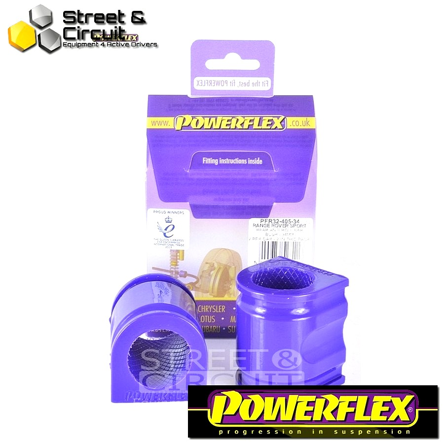 | ΑΡΙΘΜΟΣ ΣΧΕΔΙΟΥ 10 | - Powerflex ROAD *ΣΕΤ* Σινεμπλόκ - Range Rover Sport (2005 - 2013) - Rear Anti Roll Bar Bush 34mm Code: PFR32-405-34