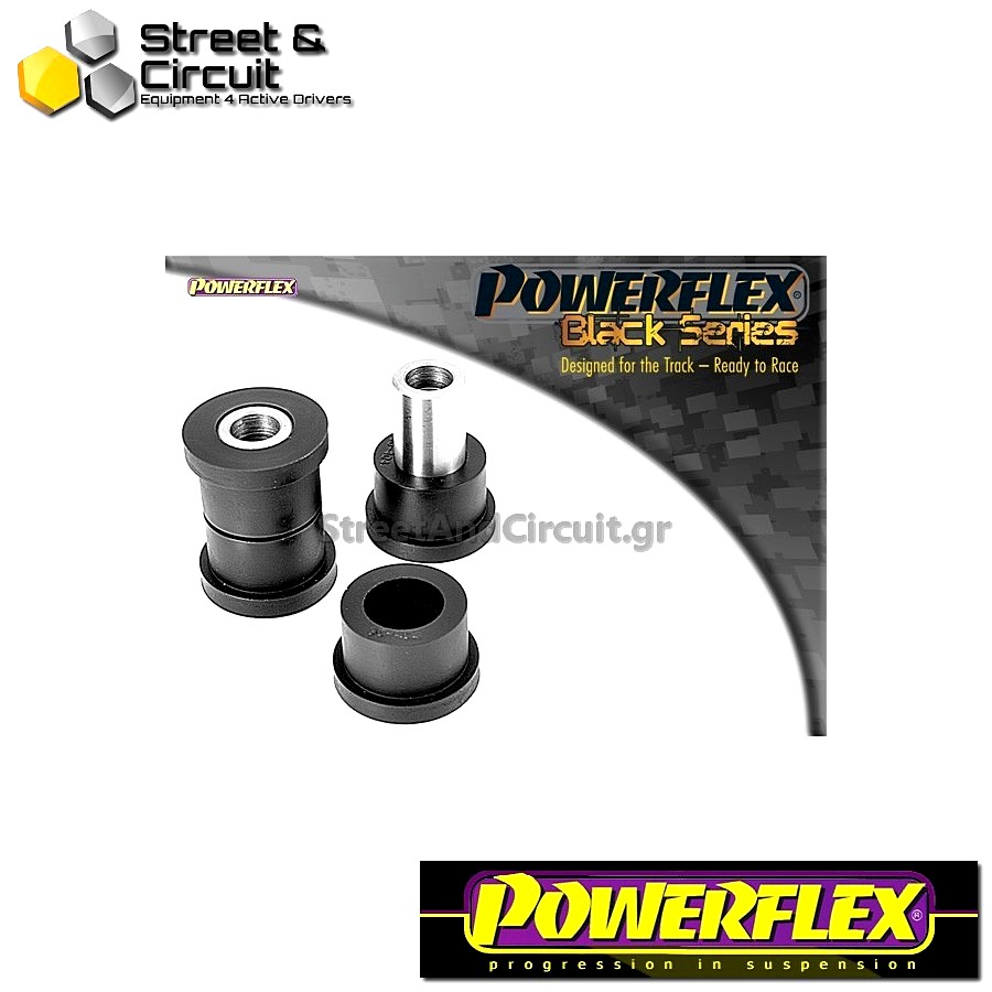 | ΑΡΙΘΜΟΣ ΣΧΕΔΙΟΥ 4 | - Powerflex BLACK SERIES *ΣΕΤ* Σινεμπλόκ - RX-8 - Rear Trailing Arm Rear Bush Code: PFR36-404BLK