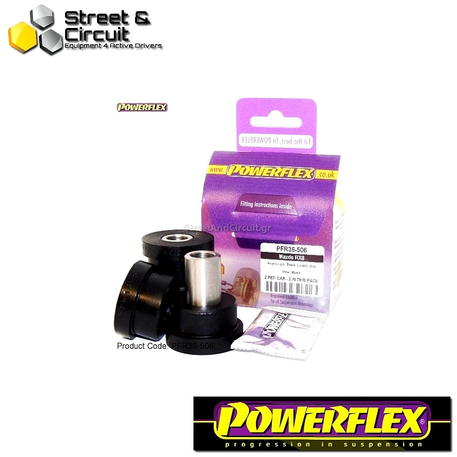 | ΑΡΙΘΜΟΣ ΣΧΕΔΙΟΥ 6 | - Powerflex ROAD *ΣΕΤ* Σινεμπλόκ - RX-8 - Rear Track Control Arm Inner Bush Code: PFR36-506