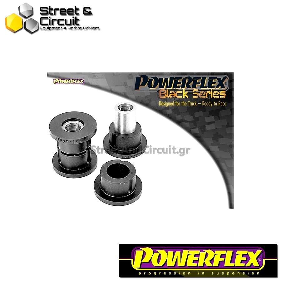 | ΑΡΙΘΜΟΣ ΣΧΕΔΙΟΥ 6 | - Powerflex BLACK SERIES *ΣΕΤ* Σινεμπλόκ - MGF (up to 2002) - Rear Lower Arm To Hub Bush Code: PFR42-221BLK