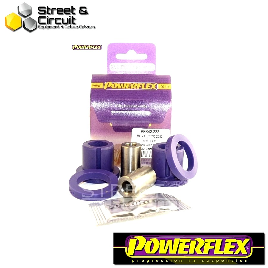 | ΑΡΙΘΜΟΣ ΣΧΕΔΙΟΥ 7 | - Powerflex ROAD *ΣΕΤ* Σινεμπλόκ - MGF (up to 2002) - Rear Tie Bar To Chassis Bush Code: PFR42-222