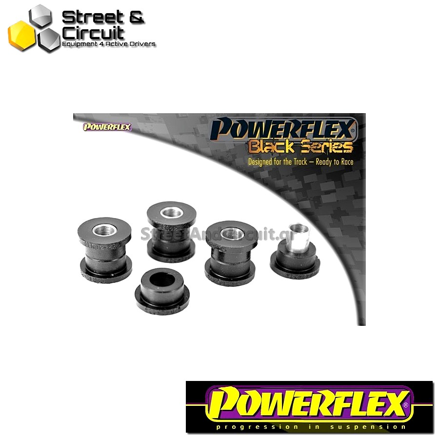 | ΑΡΙΘΜΟΣ ΣΧΕΔΙΟΥ 9 | - Powerflex BLACK SERIES *ΣΕΤ* Σινεμπλόκ - MGF (up to 2002) - Rear Anti Roll Bar Link Bush Code: PFR42-226BLK