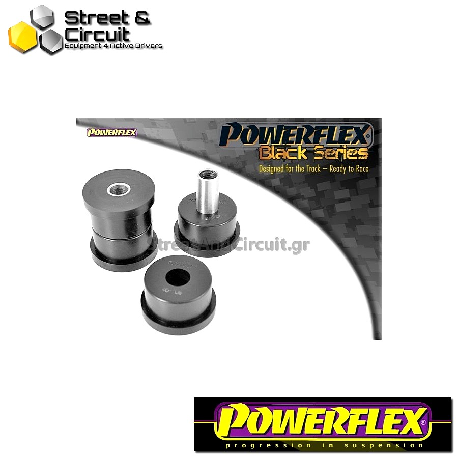 | ΑΡΙΘΜΟΣ ΣΧΕΔΙΟΥ 5 | - Powerflex BLACK SERIES *ΣΕΤ* Σινεμπλόκ - Sunny/Pulsar GTiR - Rear Track Arm Front Bush Kit Code: PFR46-105BLK