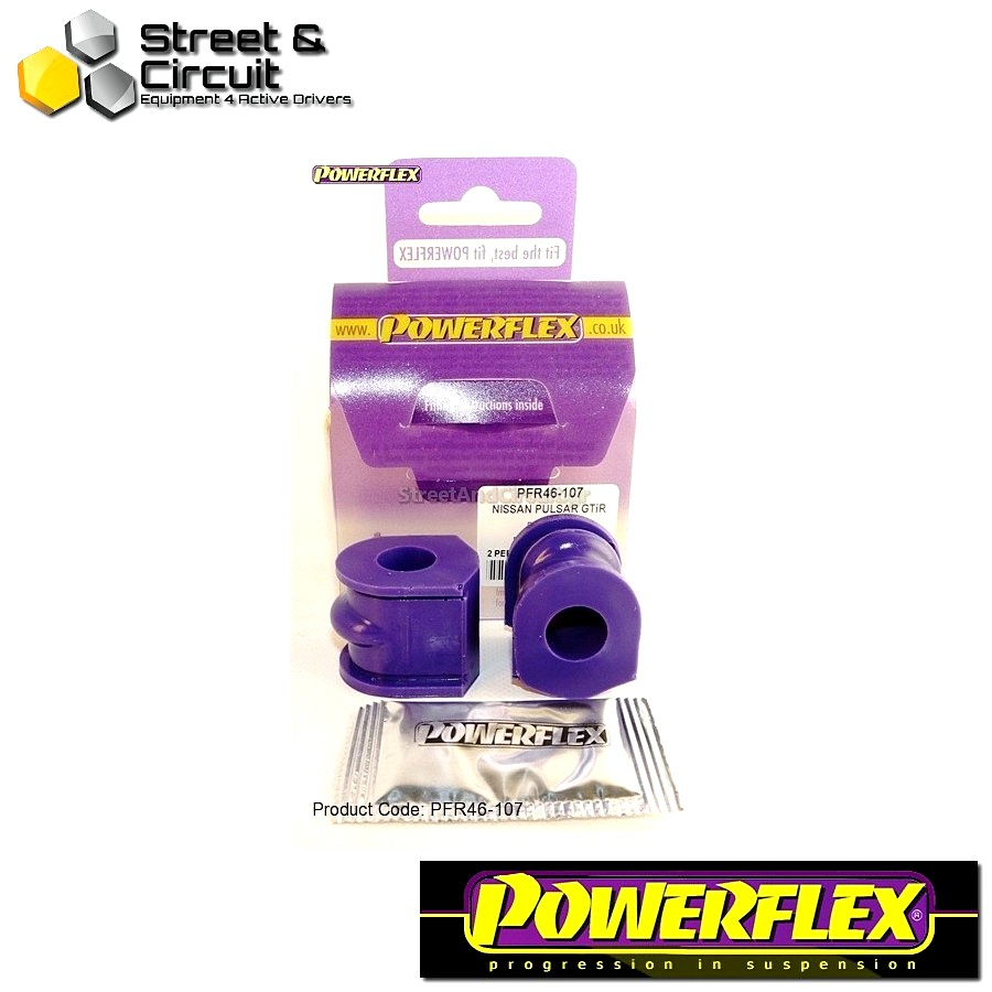 | ΑΡΙΘΜΟΣ ΣΧΕΔΙΟΥ 7 | - Powerflex ROAD *ΣΕΤ* Σινεμπλόκ - Sunny/Pulsar GTiR - Rear Anti Roll Bar Mount Code: PFR46-107