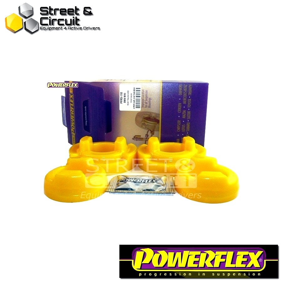 | ΑΡΙΘΜΟΣ ΣΧΕΔΙΟΥ 10 | - Powerflex ROAD *ΣΕΤ* Σινεμπλόκ - Mini Generation 1 - Rear Trailing Arm Front Bush Inserts Code: PFR5-110