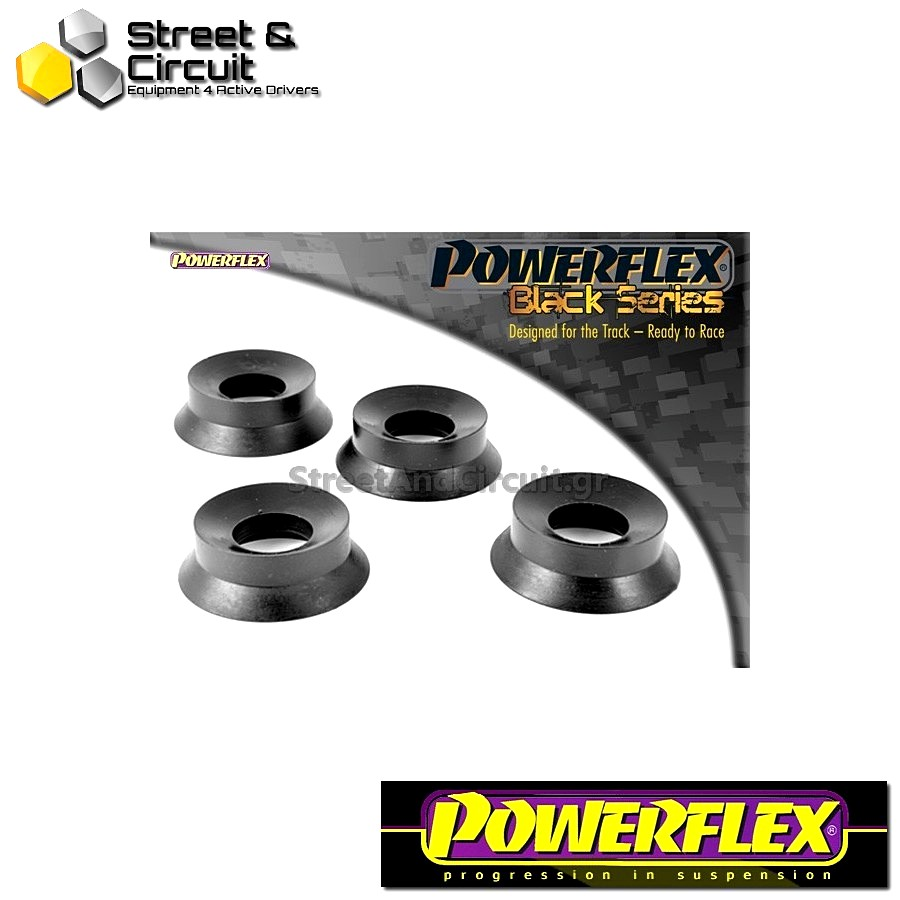 | ΑΡΙΘΜΟΣ ΣΧΕΔΙΟΥ 10 | - Powerflex BLACK SERIES *ΣΕΤ* Σινεμπλόκ - Mini Generation 2 - Rear Trailing Arm Front Bush Inserts Code: PFR5-1102BLK