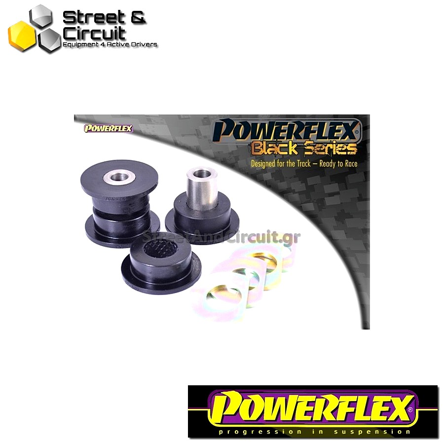 | ΑΡΙΘΜΟΣ ΣΧΕΔΙΟΥ 7 | - Powerflex BLACK SERIES *ΣΕΤ* Σινεμπλόκ - 997 (2005-2012) - Rear Link Arm Inner Bush Code: PFR57-507BLK
