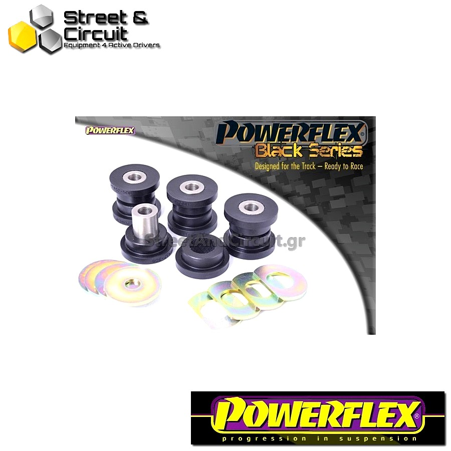 | ΑΡΙΘΜΟΣ ΣΧΕΔΙΟΥ 8 | - Powerflex BLACK SERIES *ΣΕΤ* Σινεμπλόκ - 997 (2005-2012) - Rear Upper Link Arm Outer Bush Code: PFR57-508BLK