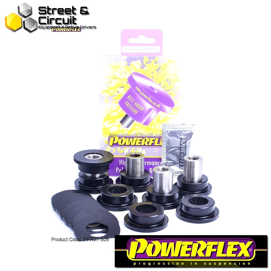 | ΑΡΙΘΜΟΣ ΣΧΕΔΙΟΥ 8 | - Powerflex ROAD *ΣΕΤ* Σινεμπλόκ - 997 (2005-2012) - Rear Upper Link Arm Outer Bush 2006 on. Code: PFR57-509
