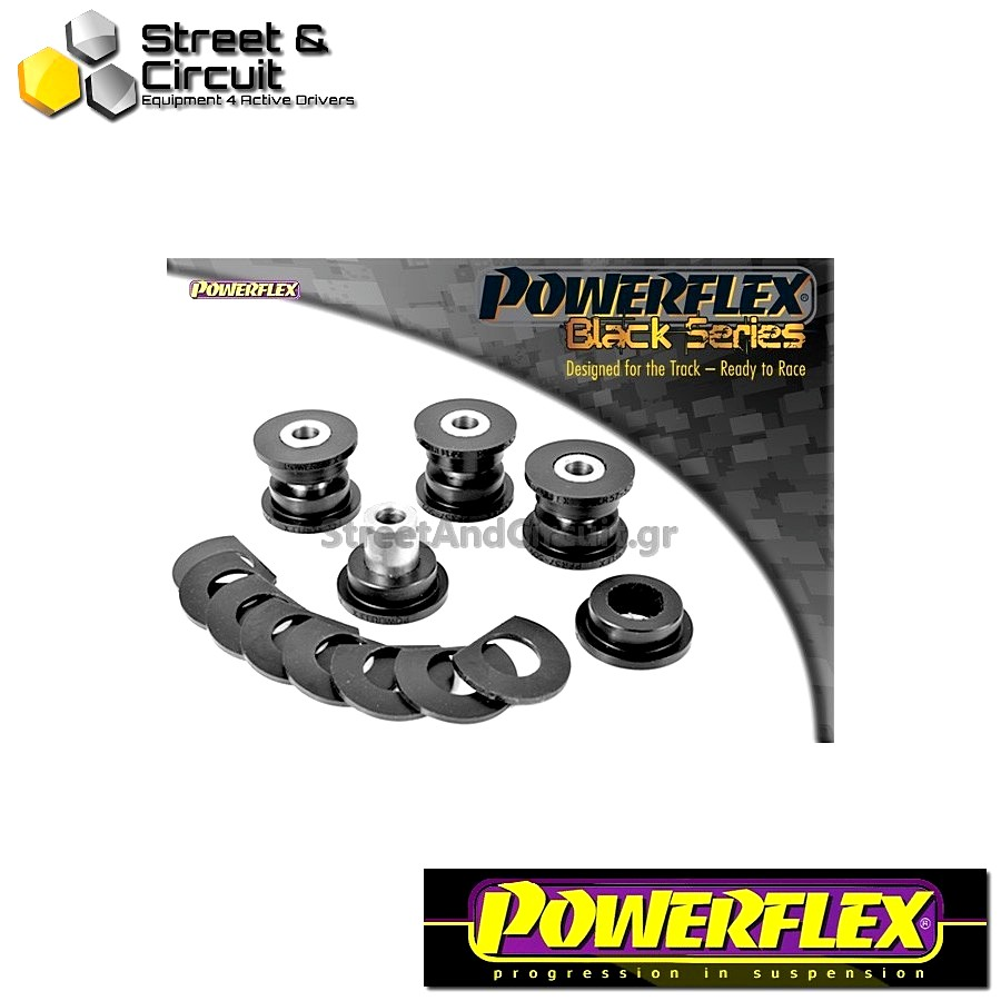 | ΑΡΙΘΜΟΣ ΣΧΕΔΙΟΥ 8 | - Powerflex BLACK SERIES *ΣΕΤ* Σινεμπλόκ - 997 (2005-2012) - Rear Upper Link Arm Outer Bush 2006 on Code: PFR57-509BLK