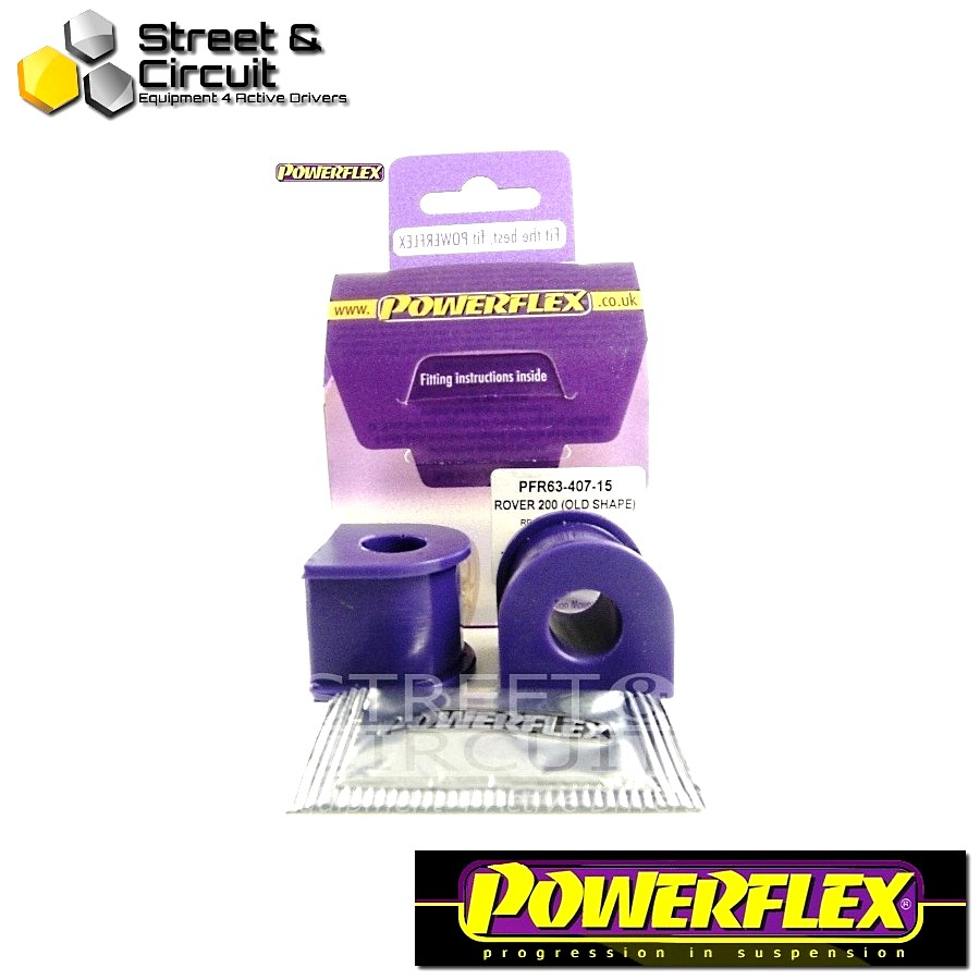 | ΑΡΙΘΜΟΣ ΣΧΕΔΙΟΥ 12 | - Powerflex ROAD *ΣΕΤ* Σινεμπλόκ - 200 Series (Old Shape) 400 Series (Old Shape) - Rear Anti Roll Bar Mount 15mm Code: PFR63-407-15