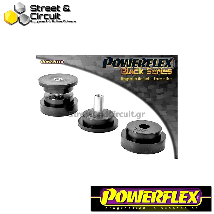 | ΑΡΙΘΜΟΣ ΣΧΕΔΙΟΥ 10 | - Powerflex BLACK SERIES *ΣΕΤ* Σινεμπλόκ - 9-5 (1998-2010) YS3E - Rear Trailing Arm Bush Code: PFR66-110BLK
