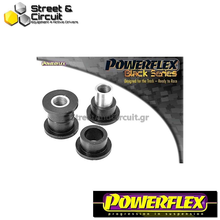 | ΑΡΙΘΜΟΣ ΣΧΕΔΙΟΥ 12 | - Powerflex BLACK SERIES *ΣΕΤ* Σινεμπλόκ - 900 (1983-1993) - Rear Axle To Chassis Bush Rear Code: PFR66-418BLK