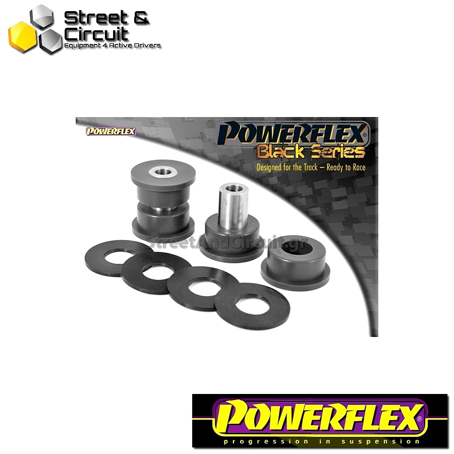 | ΑΡΙΘΜΟΣ ΣΧΕΔΙΟΥ 7 | - Powerflex BLACK SERIES *ΣΕΤ* Σινεμπλόκ - BRZ  - Rear Trailing Arm Rear Bush Code: PFR69-507BLK