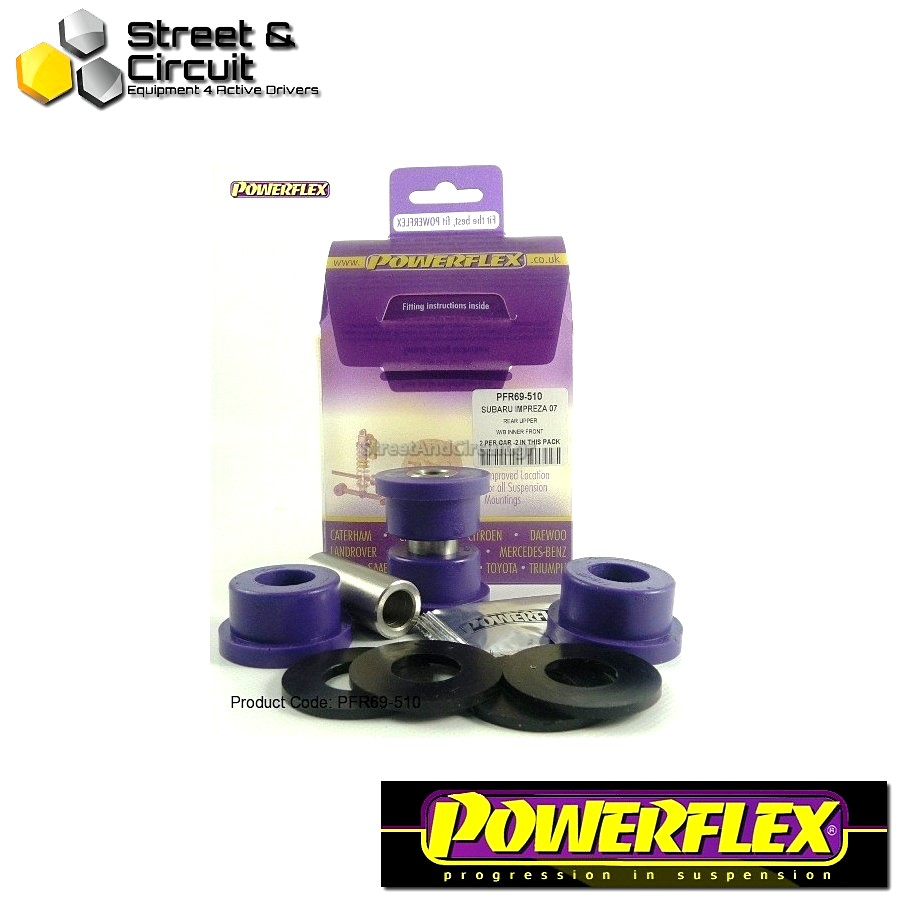 | ΑΡΙΘΜΟΣ ΣΧΕΔΙΟΥ 10 | - Powerflex ROAD *ΣΕΤ* Σινεμπλόκ - 86 / GT86 Road - Rear Upper Arm Inner Front Bush Code: PFR69-510