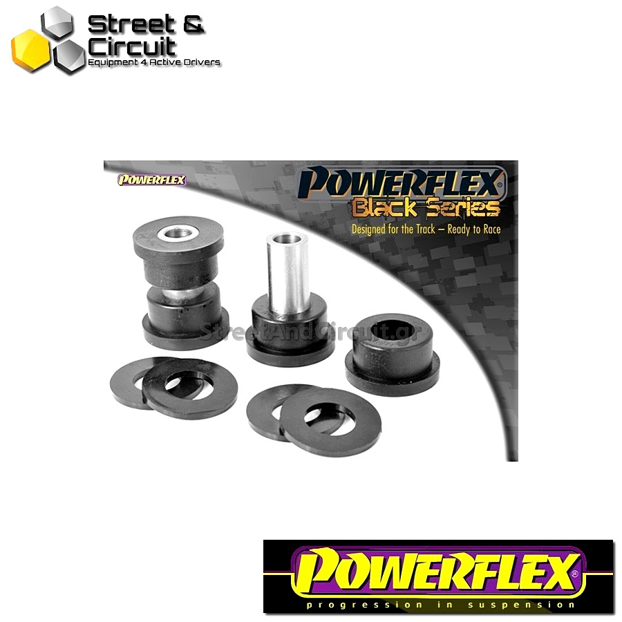 | ΑΡΙΘΜΟΣ ΣΧΕΔΙΟΥ 10 | - Powerflex BLACK SERIES *ΣΕΤ* Σινεμπλόκ - BRZ  - Rear Upper Arm Inner Front Bush Code: PFR69-510BLK
