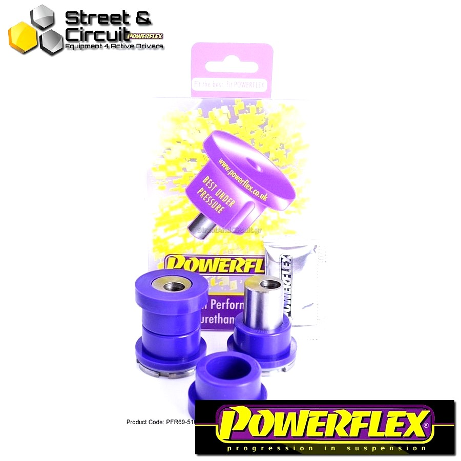 | ΑΡΙΘΜΟΣ ΣΧΕΔΙΟΥ 10 | - Powerflex ROAD *ΣΕΤ* Σινεμπλόκ - BRZ - Rear Upper Arm Inner Front Bush ADJUSTABLE Code: PFR69-510G
