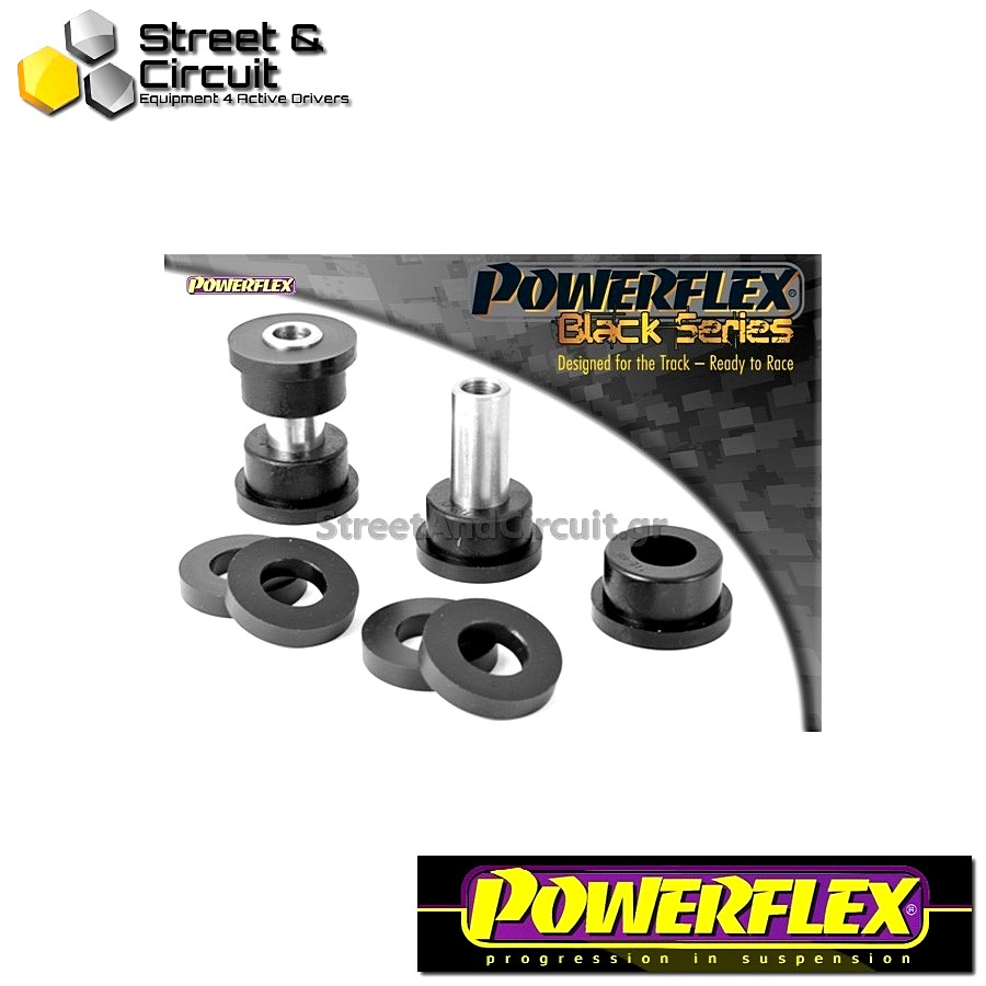 | ΑΡΙΘΜΟΣ ΣΧΕΔΙΟΥ 11 | - Powerflex BLACK SERIES *ΣΕΤ* Σινεμπλόκ - BRZ  - Rear Upper Arm Inner Rear Bush Code: PFR69-511BLK