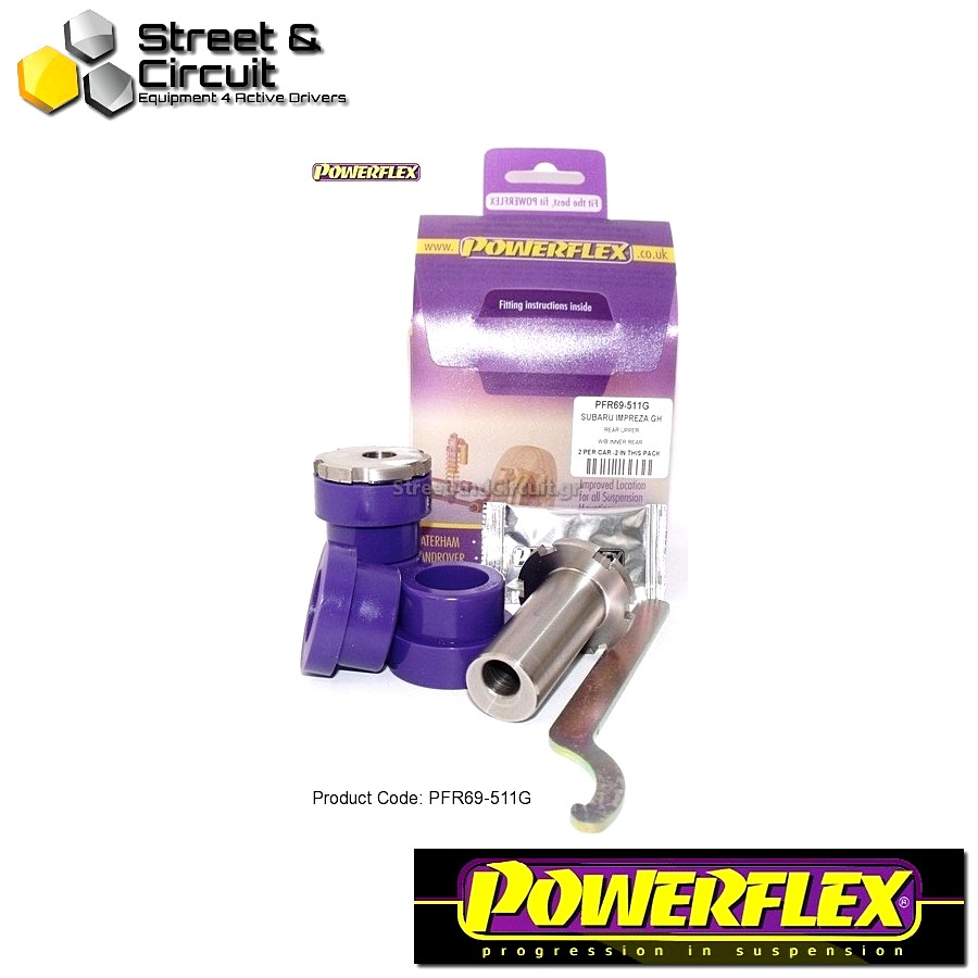 | ΑΡΙΘΜΟΣ ΣΧΕΔΙΟΥ 11 | - Powerflex ROAD *ΣΕΤ* Σινεμπλόκ - 86 / GT86 Road - Rear Upper Arm Inner Rear Bush ADJUSTABLE Code: PFR69-511G