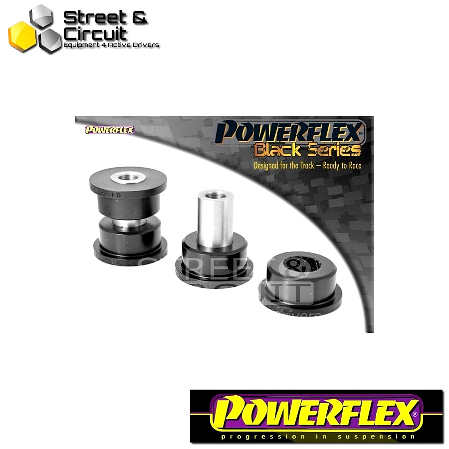 | ΑΡΙΘΜΟΣ ΣΧΕΔΙΟΥ 6 | - Powerflex BLACK SERIES *ΣΕΤ* Σινεμπλόκ - BRZ  - Rear Trailing Arm Front Bush Code: PFR69-810BLK