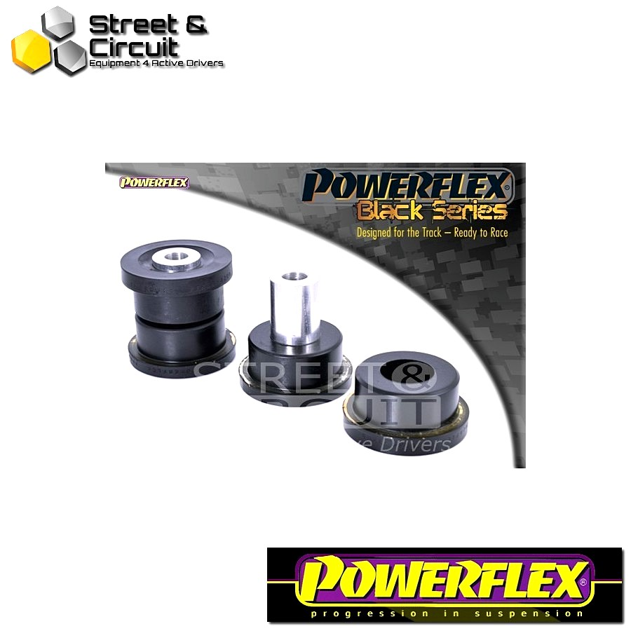 | ΑΡΙΘΜΟΣ ΣΧΕΔΙΟΥ 20 | - Powerflex BLACK SERIES *ΣΕΤ* Σινεμπλόκ - BRZ  - Rear Subframe Rear Bush Code: PFR69-820BLK