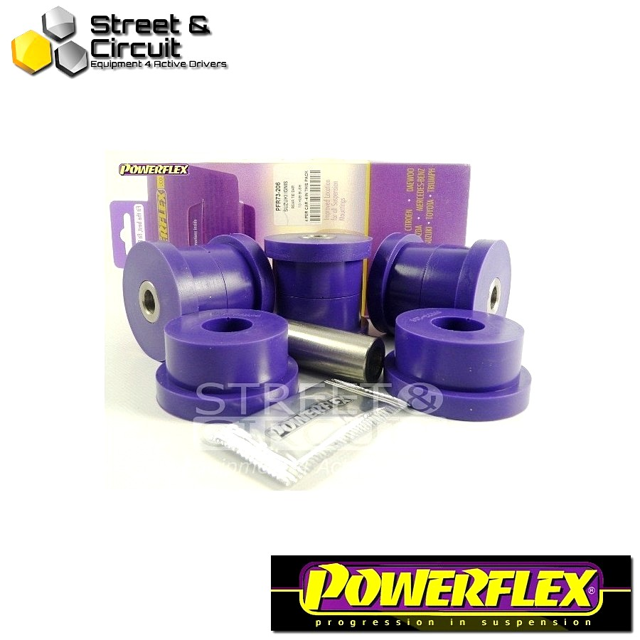 | ΑΡΙΘΜΟΣ ΣΧΕΔΙΟΥ 6 | - Powerflex ROAD *ΣΕΤ* Σινεμπλόκ - Matiz M100 & M150 (1998-2008) - Rear Tie Bar to Hub Bush Code: PFR73-206