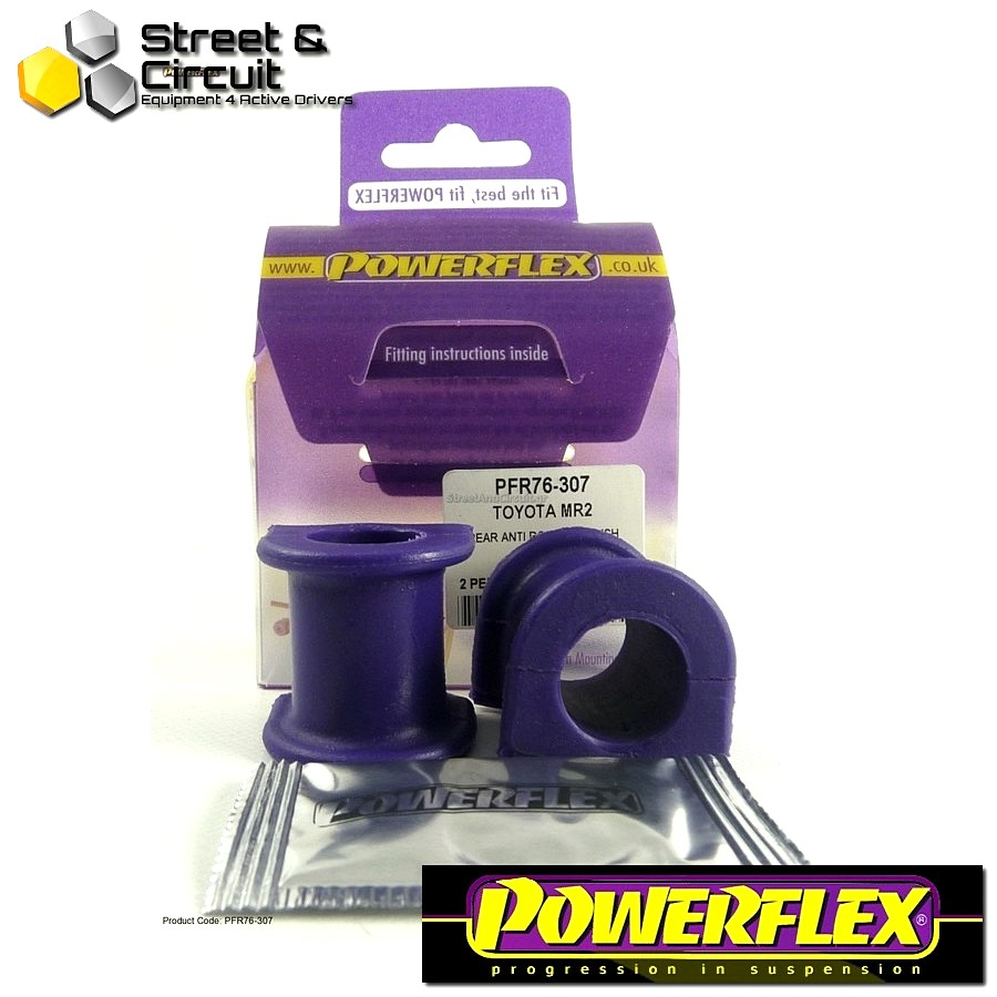 | ΑΡΙΘΜΟΣ ΣΧΕΔΙΟΥ 7 | - Powerflex ROAD *ΣΕΤ* Σινεμπλόκ - MR2 3S-FE/GE SW20 (1989-1999) - Rear Anti Roll Bar Bush 20mm Code: PFR76-307
