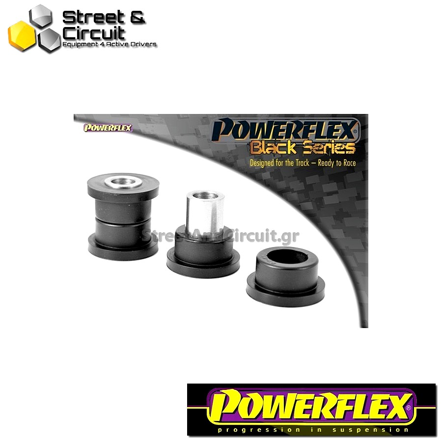 | ΑΡΙΘΜΟΣ ΣΧΕΔΙΟΥ 8 | - Powerflex BLACK SERIES *ΣΕΤ* Σινεμπλόκ - Supra 4 JZA80 (1993-2002) - Rear Trailing Arm Front Bush Code: PFR76-608BLK