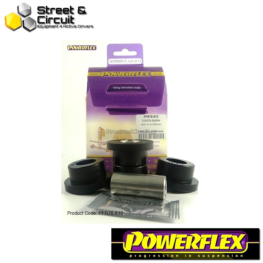 | ΑΡΙΘΜΟΣ ΣΧΕΔΙΟΥ 10 | - Powerflex ROAD *ΣΕΤ* Σινεμπλόκ - Supra 4 JZA80 (1993-2002) - Rear Track Control Arm Outer Bush Code: PFR76-610
