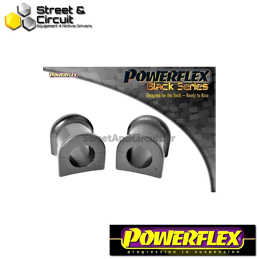 | ΑΡΙΘΜΟΣ ΣΧΕΔΙΟΥ 12 | - Powerflex BLACK SERIES *ΣΕΤ* Σινεμπλόκ - Supra 4 JZA80 (1993-2002) - Rear Anti Roll Bar Bush 22mm Code: PFR76-612BLK