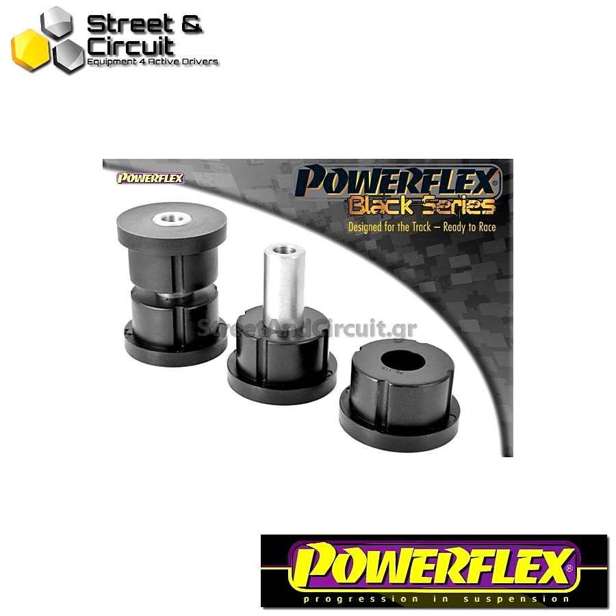 | ΑΡΙΘΜΟΣ ΣΧΕΔΙΟΥ 5 | - Powerflex BLACK SERIES *ΣΕΤ* Σινεμπλόκ - Nova (1983-1993) - Rear Beam Mounting Bush Code: PFR80-112BLK