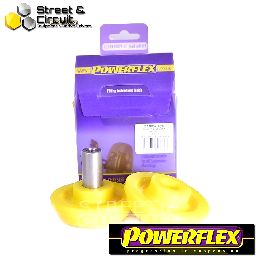 | ΑΡΙΘΜΟΣ ΣΧΕΔΙΟΥ 20 | - Powerflex ROAD *ΣΕΤ* Σινεμπλόκ - 100 Quattro inc Avant Type 44 (10/84-11/90) - Rear Diff Rear Mounting Bush Code: PFR85-1020