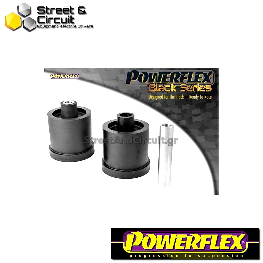 | ΑΡΙΘΜΟΣ ΣΧΕΔΙΟΥ 4 | - Powerflex BLACK SERIES *ΣΕΤ* Σινεμπλόκ - Polo 9N/9N3 (2002 - 2008) - Rear Beam Mounting Bush Code: PFR85-415BLK