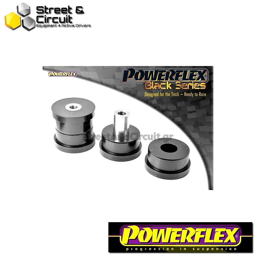 | ΑΡΙΘΜΟΣ ΣΧΕΔΙΟΥ 8 | - Powerflex BLACK SERIES *ΣΕΤ* Σινεμπλόκ - Octavia Mk2 1Z (2004-) - Rear Tie Bar to Chassis Front Bush Code: PFR85-508BLK