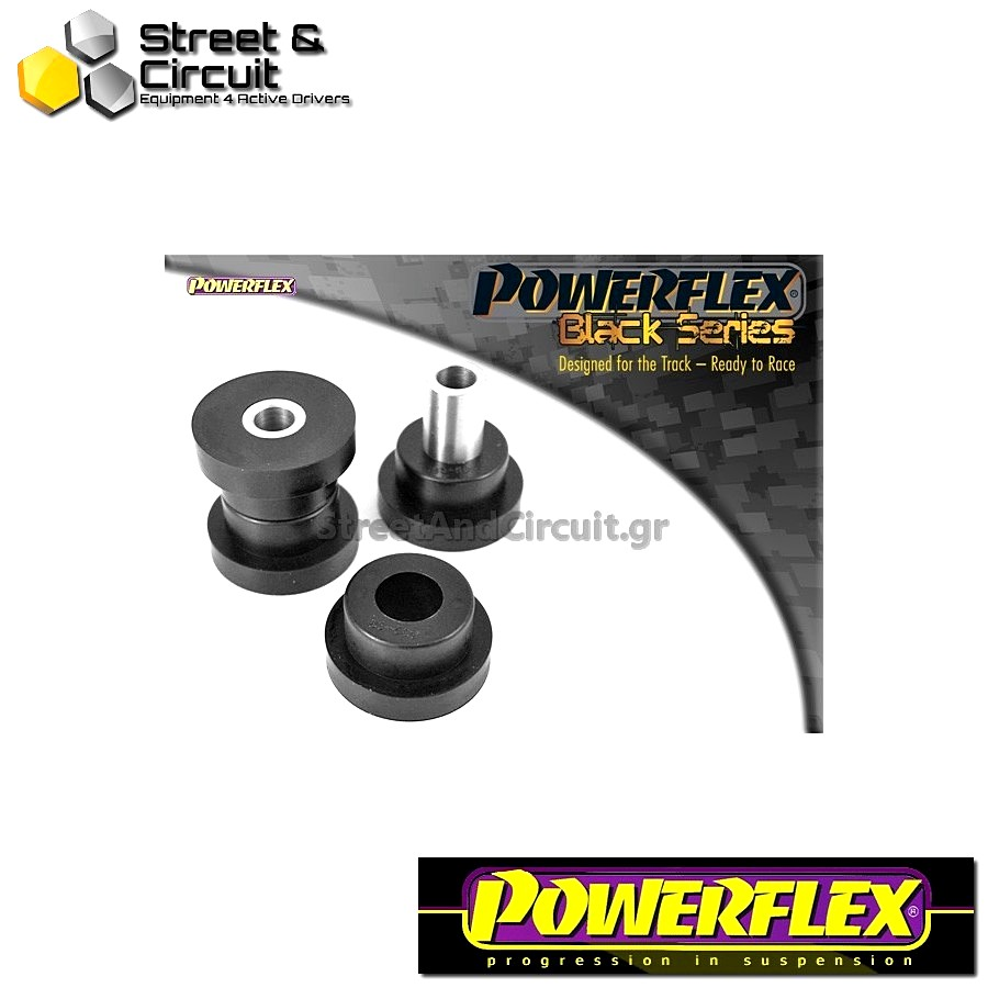 | ΑΡΙΘΜΟΣ ΣΧΕΔΙΟΥ 9 | - Powerflex BLACK SERIES *ΣΕΤ* Σινεμπλόκ - Octavia Mk2 1Z (2004-) - Rear Lower Spring Mount Outer Code: PFR85-509BLK
