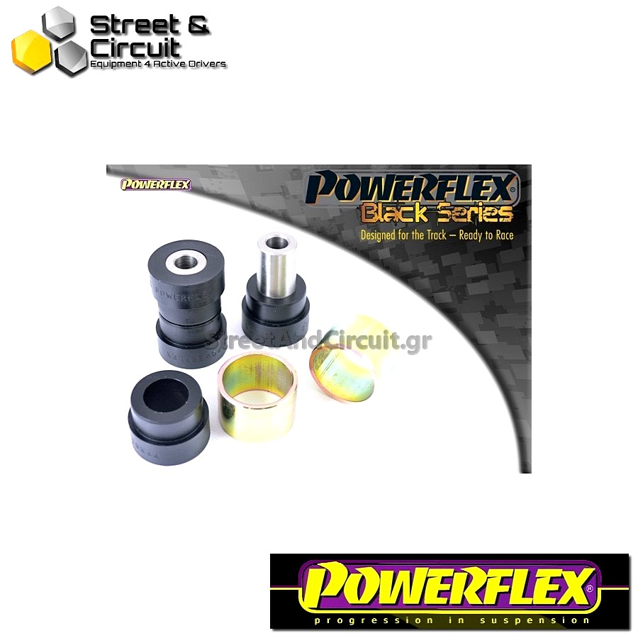 | ΑΡΙΘΜΟΣ ΣΧΕΔΙΟΥ 12 | - Powerflex BLACK SERIES *ΣΕΤ* Σινεμπλόκ - Octavia Mk2 1Z (2004-) - Rear Lower Link Inner Bush Code: PFR85-512BLK