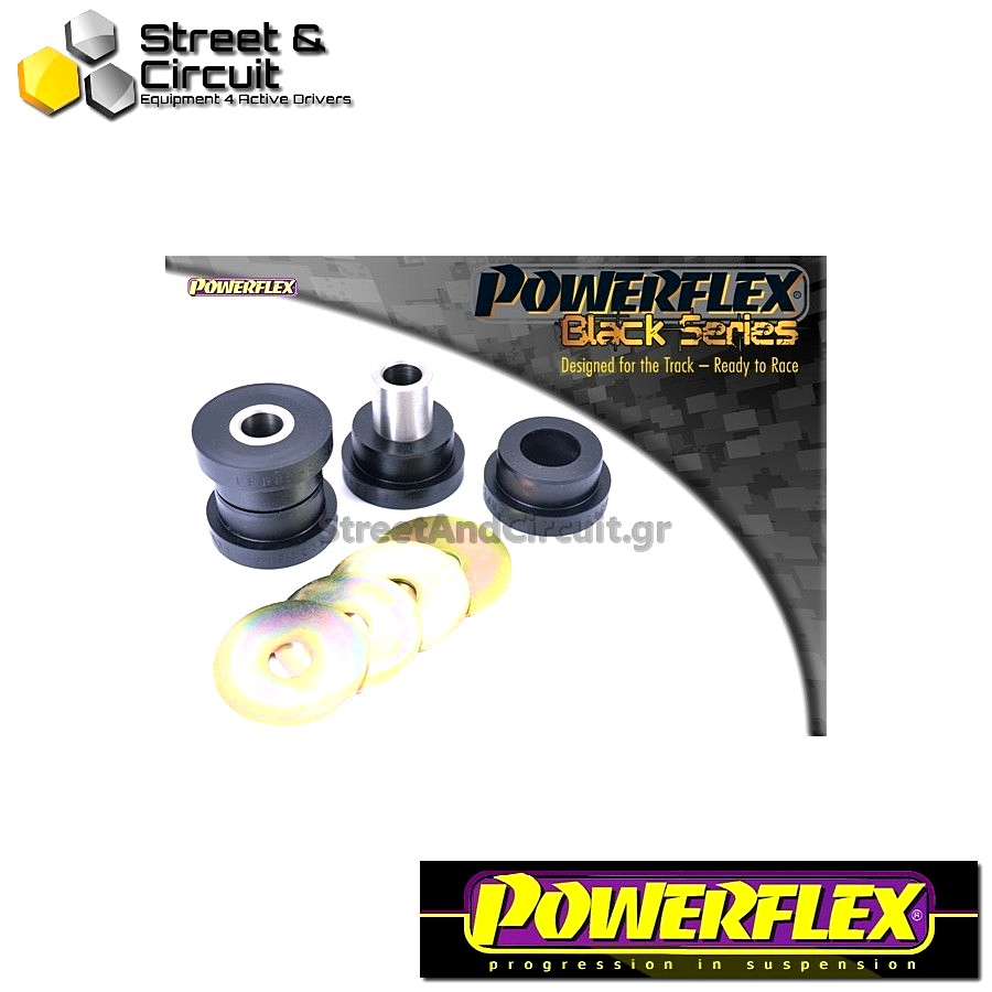 | ΑΡΙΘΜΟΣ ΣΧΕΔΙΟΥ 13 | - Powerflex BLACK SERIES *ΣΕΤ* Σινεμπλόκ - Octavia Mk2 1Z (2004-) - Rear Upper Link Outer Bush Code: PFR85-513BLK