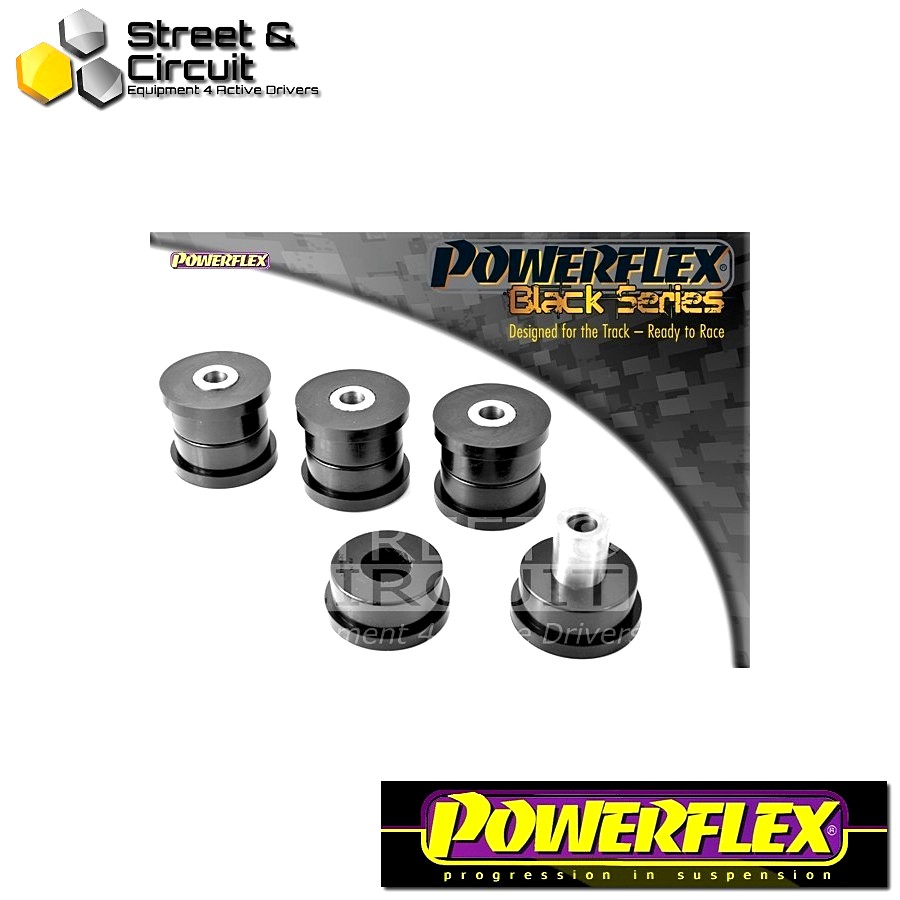 | ΑΡΙΘΜΟΣ ΣΧΕΔΙΟΥ 12 | - Powerflex BLACK SERIES *ΣΕΤ* Σινεμπλόκ - 240 (1975 - 1993) - Rear Upper Trailing Arm Bush Code: PFR88-212BLK