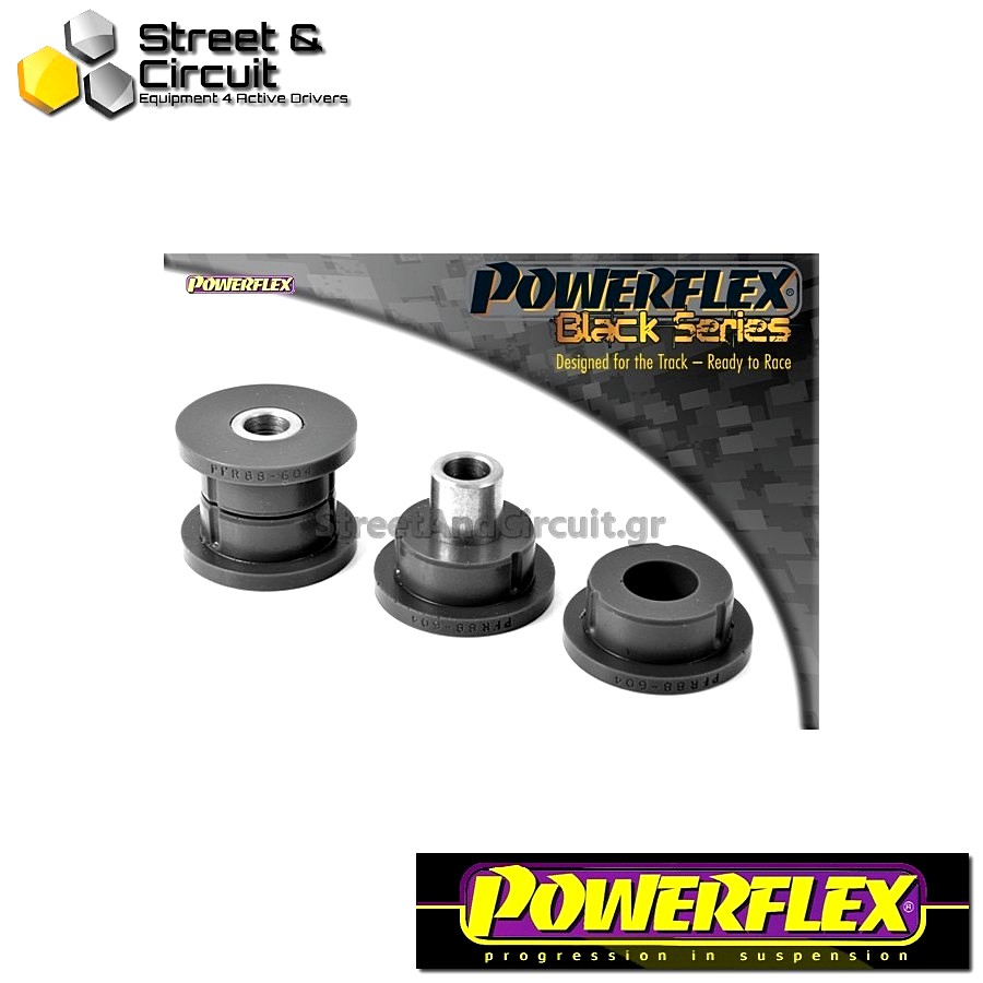| ΑΡΙΘΜΟΣ ΣΧΕΔΙΟΥ 4 | - Powerflex BLACK SERIES *ΣΕΤ* Σινεμπλόκ - S60 AWD 2002 - Rear Inner Rear Lower Arm Code: PFR88-604BLK