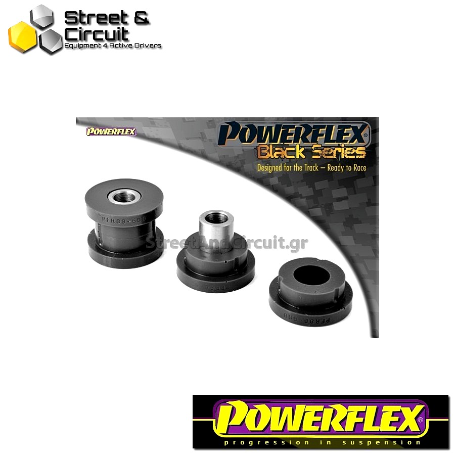 | ΑΡΙΘΜΟΣ ΣΧΕΔΙΟΥ 8 | - Powerflex BLACK SERIES *ΣΕΤ* Σινεμπλόκ - S60 AWD 2002 - Rear Toe Control Arm To Hub Bush Code: PFR88-608BLK