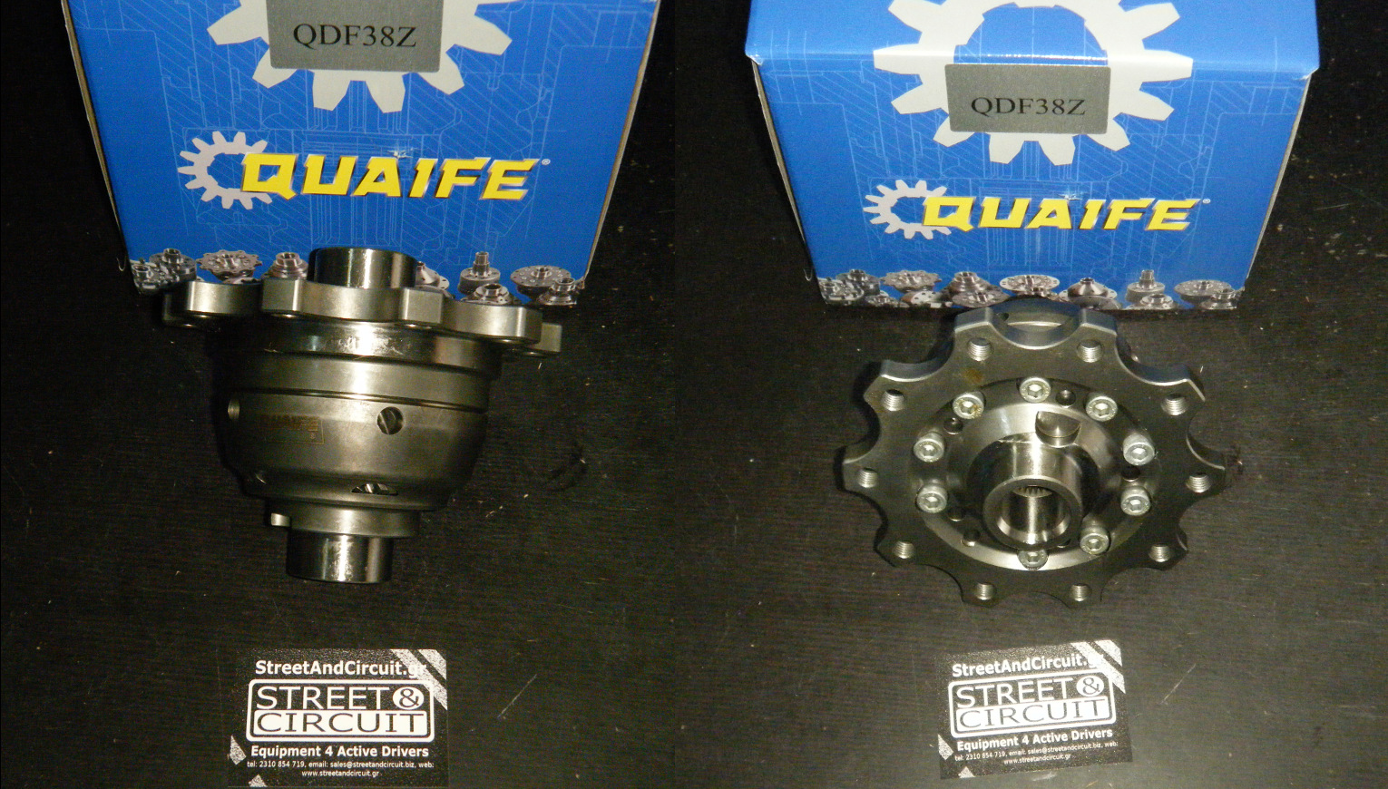 Ford Focus ST170 Quaife ATB Μπλοκέ Διαφορικό/Limited Slip Diff